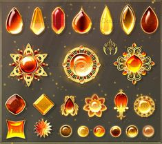 wnloadable stock) by Rittik-Designs: Digital Painting Tutorials, Digital Art Tutorial, Art Tutorials, Fantasy Jewelry, Fantasy Art, Magia Elemental, Weapon Concept Art, Jewelry Drawing, Magic Art