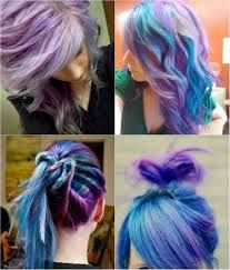 hair color emerald green splat on people - Google Search