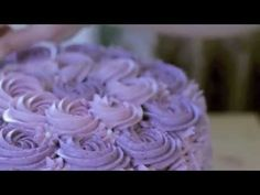 Lemon Layer Cake with Blueberry Lavender Buttercream | The Wholesome Pursuit