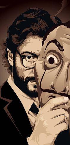 #Professer Money Heist Season 4 Exclusive Wallpaper
