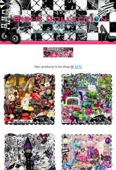 """Ad:New Scrapkits """"CARRY"""", """"SASHA"""", & More by Bibi's Collection! http://mad.ly/0f6253"""