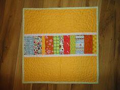 Reverse of Oli's birthday doll quilt