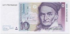 10 Deutsche Mark 1993 (Gauß)