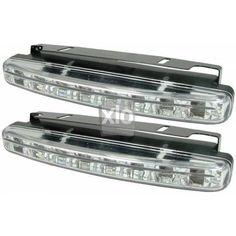 8 LED-es nappali autós menetfény, 1 pár