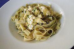 Spaghetti mit Artischocken und Schafskäse (Rezept mit Bild) | Chefkoch.de
