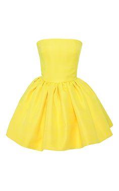 Gathered Bustier Dress by Martin Grant at Moda Operandi