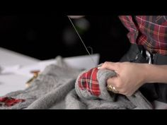 How to make a Brave-inspired Tartan Elbow Patch Sweater