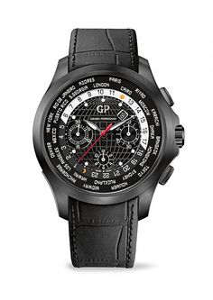 The Traveller WW.TC by Girard-Perregaux #watches #men #chronograph