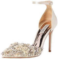 e686e8fe440 Bestebuys Hot New Ladies Designer Shoe Deals For Less  245.00 Badgley  Mischka Women s Fey Pump BestEbuys