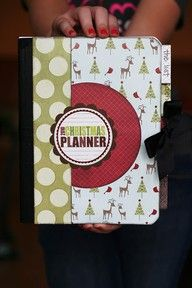 a Planner for Christmas DIY