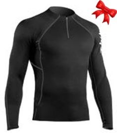 Zhik Hydrophobic Top Men Zipper Black #FMGiftGuides16