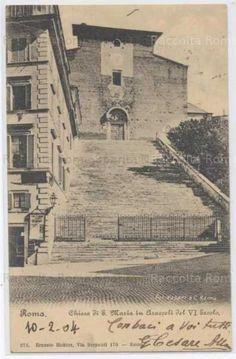 Foto storiche di Roma - Chiesa Santa Maria in Ara Coeli