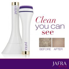 Used together, Revitalizing Sonic Cleanser and Royal Jelly Gentle Cleansing Milk deliver exceptional results. http://jafra.me/dcv  Join my team! The Royal Buzzzz is waiting for you! Start earning money today!! http://jafra.me/dcw
