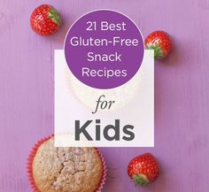 Help keep your kids healthy with these 21 Best Gluten-Free Snack Recipes!