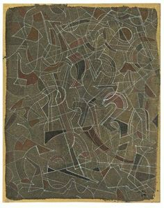 Mark Tobey, SPACE LINES