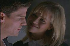 Alyson Hannigan and Amber Benson in Buffy the Vampire Slayer Amber Benson, Vampire Shows, Angel Show, David Boreanaz, Joss Whedon, Alyson Hannigan, Buffy The Vampire Slayer, Tv Shows, Charmed