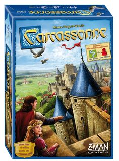 Carcassonne Big Box - Whose Turn Now The full Carcassonne Experience! The Base game, 4 expansions, and much more in one box! Whether you're a huge Carcassonne fan or experiencing this award-winning game for the first time, the Carcassonne Big Box has something for everyone. The expansions included in the box change the game in new and exciting ways and can be used in any combination, guaranteeing a new experience every time you play.