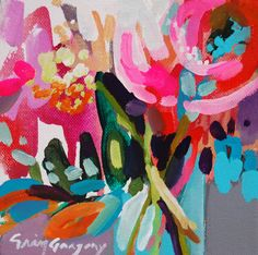 "Erin Gregory | Gregg Irby Fine Art ""New Beginnings"" 6x6"""