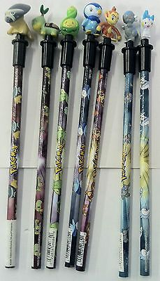 Pokemon Pencils 12 Pc Party Supplies Favors With Pencil Tops Only