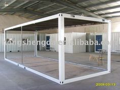 Flat-packed 20feet Shipping Container Frame / House Frame For Sale - Buy 20feet Shipping Container Frame,Flat-packed Container Frame,Contain...