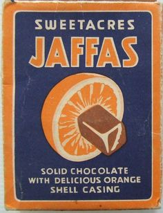 Sweetacres Jaffas Confectionery Box - New Zealand - Giuliana