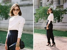 Vanessa Jackman: Paris Fashion Week SS 2014....Before Acne Studios