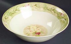 Cheri Blum (Rose Bouquet pattern) match my Savannah pattern dishes.. need serving pieces :)