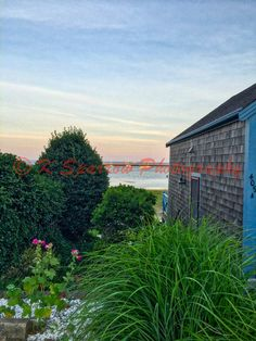 Home on the Bay Provincetown MA  Sea Grass Bay by ksparrowphoto