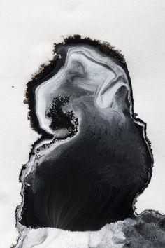 Logic of Nature - manifest by J.D Doria, 2014 - J.D Doria Black And White Abstract, White Art, Black White, Dark Matter, Motifs Organiques, Arte Yin Yang, Jolie Photo, Ink Art, Graphic
