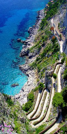 Capri. The roads are so scary but it is one of the most magical places in the world.