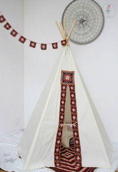#pacztipi #pacz #teepee #tipi #wigwam #tent #crochet #pillows #stars #clouds #radosnafabryka #handmade Hanging Chair, Decoupage, Furniture, Crochet, Home Decor, Homemade Home Decor, Crochet Crop Top, Home Furnishings, Chrochet