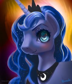 MLP FIM: Princess Luna Portrait