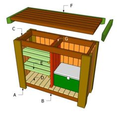 Use these free bar plans to build an outdoor bar, indoor bar, or even a rolling bar. You'll have fun and save money with these DIY bar plans. Patio Bar, Pool Bar, Deck Bar, Backyard Bar, My Pool, Backyard Projects, Outdoor Projects, Woodworking Projects Diy, Woodworking Plans