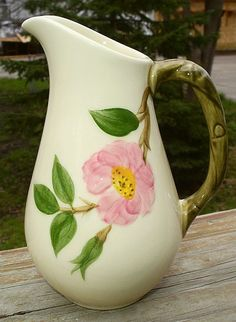 Franciscan Desert Rose Syrup Pitcher...I don't have this piece to go with my set, yet!
