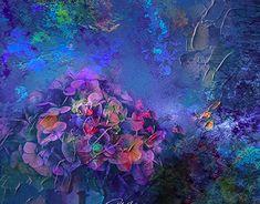 Hydrangea, New Work, Mixed Media, Profile, Behance, Interiors, Gallery, Check, Creative