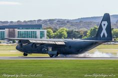 #RAAF @LockheedMartin C-130 lands at @CanberraAirport this week #avgeek #aviation #photography #canon #cbr #hercules
