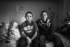 """Kidnapped: Brayan Godoy (left) and his brother, Robinson, were travelling from Guatemala to join their parents, in Trenton. In Texas, a woman in a white car said, """"Get in!"""""""