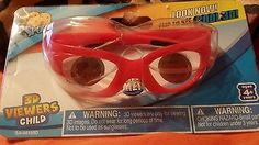 Kids ages 4+ Red 3d viewer glasses brand new  4th OF JULY SAVINGS SALE 35% off discount at my ebay store. Please click on link to check out all the goodies on sale. SHIPPING ALL SOLD ITEMS OUT ON TUESDAY WITH TRACKING INFORMATION   #SALE #HOLIDAY #4THOFJULY #BABY #PARTY #FAMILYREUNION #INDEPENDENCEDAY #BIRTHDAY #AMERICASBIRTHDAY #FOURTHOFJULY #ALLSUMMER16 #CELEB #STAR #AMERICANFLAG #FREEDOM #SUPERSALE #FLAG #FASHION #SHOES #SHOPPING #FASTSHIPPING #SAVINGS #HOLIDAYSALE #35PERCENTOFF