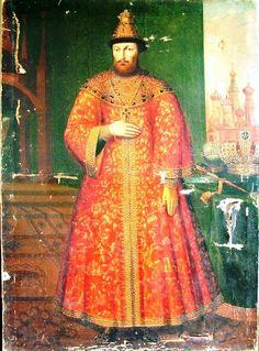 Царь Михаил Фёдорович (1596 – 1645).