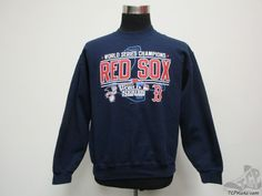 Gildan Boston Red Sox 2013 World Series Crewneck Sweatshirt sz M Medium Baseball #Gildan #BostonRedSox