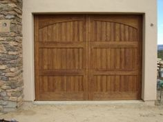 Carrie Todd House Paint Wooden Garage Doors Garage