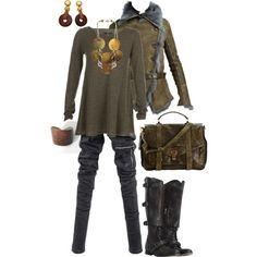 """Post-Apocalypse Fashion"" by maggie-johnston on Polyvore"