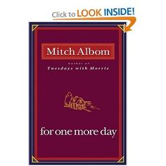 For One More Day – Mitch Albom