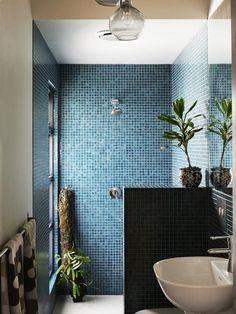 Doorless Shower Ideas Walk In Best Of 50 Awesome Walk In Shower Design Ideas –. Doorless Shower Id Mosaic Bathroom, Bathroom Flooring, Mosaic Tiles, Bathroom Tubs, Bath Tiles, Tile Grout, Modern Shower, Modern Bathroom, Minimalist Bathroom