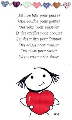 Fête des mamans - lesptitsbricoleurss jimdo page! French Teaching Resources, Teaching French, How To Speak French, Learn French, French Body Parts, French Poems, Material Didático, Core French, French Education
