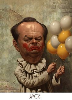 """Jack Nicholson ** The PopDot Artist ** Please Join me on the Twitter @AlabamaBYRD & Be my Friend on the FaceBook --> http://www.facebook.com/AlabamaBYRD **  BIG BYRD HUGS & SMILES & PRAYERS TO EVERYONE IN NEED EVERYWHERE **  ("""")< Chirp Chirp said THE BYRD http://www.facebook.com/AlabamaBYRD"""