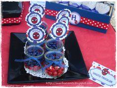 Detalle candy bar. Kit de fiesta spiderman. Merbo events by Merbo Events, via Flickr