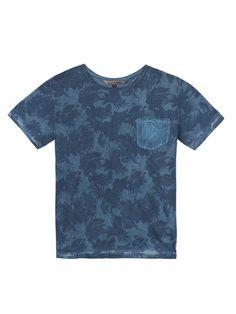 Camiseta Azul Océano Oscuro B-Karo