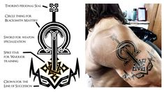 Thorin's Tattoo by Obilupin