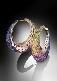 "de Grisogono Geneve collection ""Melody of Colours"" (2012) ❤≻⊰✿⊱≺❤"